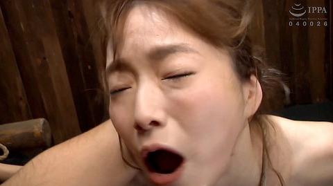 ビンタされる女 ビンタされる表情がエロい女のAV画像 ayane12