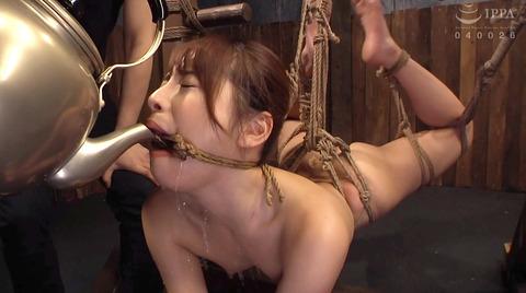 SM水責め調教水責め拷問される女のエロAV画像hanasaki153