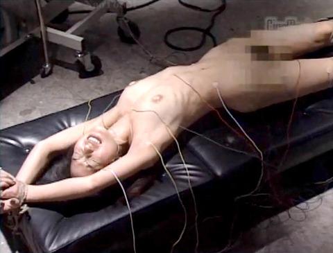 電流責め/電気責め鬼畜拷問SMされる女のエロAV画像noguchiyuka08