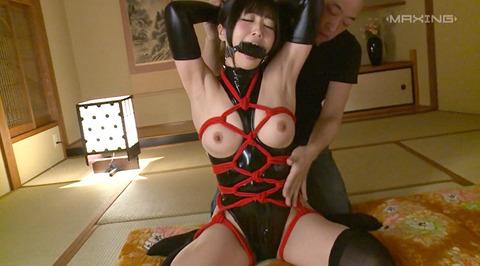 猿轡 口枷 をされる女 の 口拘束 AV エロ 画像 ootuki24