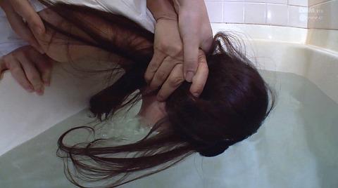 SM水責め調教/水責め拷問される女のエロAV画像_iioka24