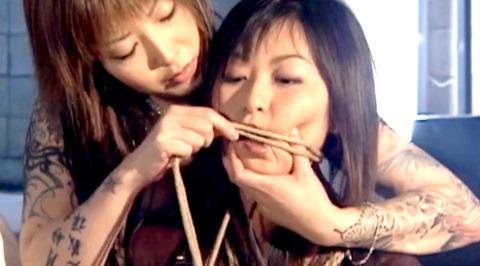 猿轡 口枷 をされる女 の 口拘束 AV エロ 画像 aokirei22