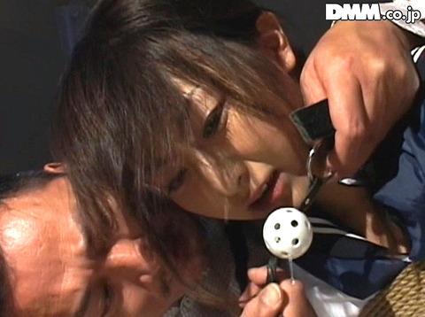 猿轡 口枷 をされる女 の 口拘束 AV エロ 画像 aokirei31
