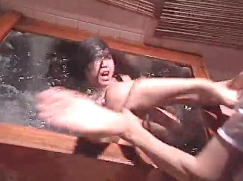 残酷 水責め SM調教 AV画像 kudouayami19