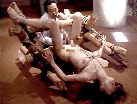 残酷非道 拷問リンチ SM調教虐待される女 エロAV画像hayamamiki07