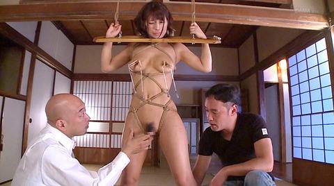 麻縄緊縛SM拘束される女のエロ画像hoshino41