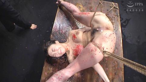 胸への鞭責めSM胸鞭SMエロビデオAV画像misakiazusa39