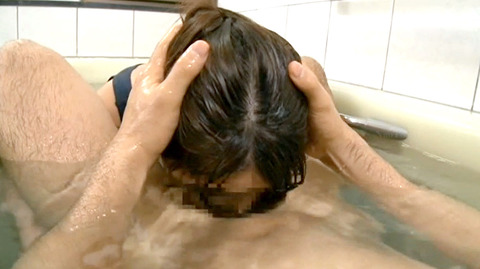 SM水責め調教/風呂場水責め拷問される女のエロAV画像kandarumi36