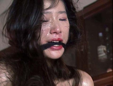 猿轡 口枷 をされる女 の 口拘束 AV エロ 画像 ashiya34