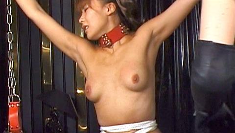 恐怖と激痛の胸への鞭責めSM調教女/胸鞭AVエロ画像hoshiseina07