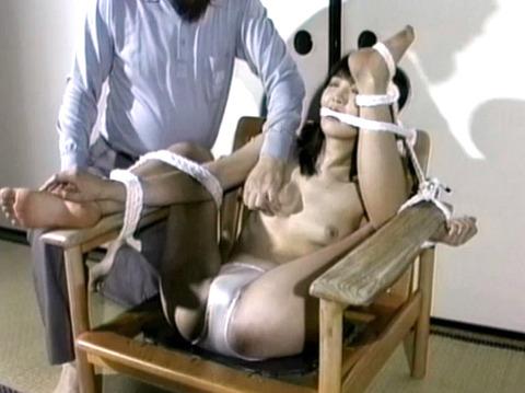 猿轡 口枷 をされる女 の 口拘束 AV エロ 画像 koyamahitomi34