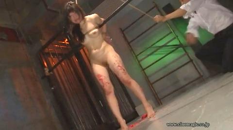 SM鞭責め鞭打ち乱打SM調教女/胸鞭AVエロ画像nakanoarisa61