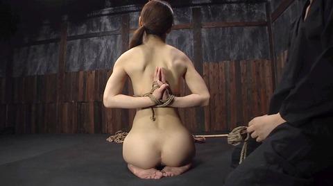 全裸で正座して 緊縛SM調教される女 樹花凜 -SMJP