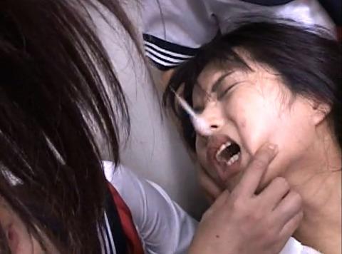 唾を吐き掛け唾を飲まされ女唾をのむ女エロAV画像junna24