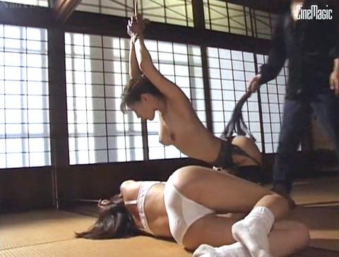 激痛の鞭責め鞭打ち乱打SM調教女/胸鞭AVエロ画像shinoharamao16