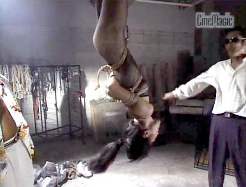 SM調教 逆さ吊り にされる女 の AV エロ画像 noguchiyuka03