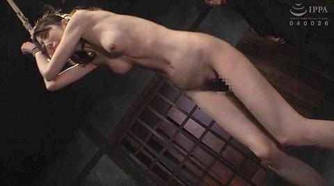 恐怖と激痛の胸への鞭責めSM調教女/胸鞭AVエロ画像arisakamiyuki223