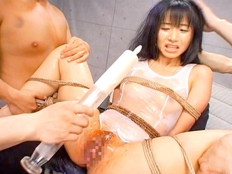 排泄管理されて 浣腸される女 苦しむ女の AVエロ画像 junna69