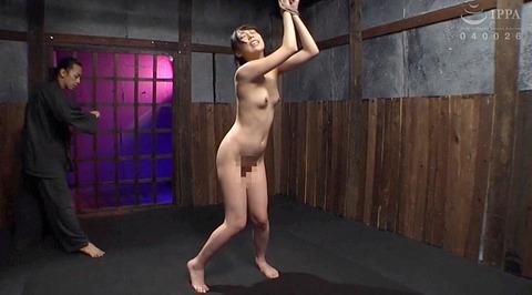 恐怖と激痛の胸への鞭責めSM調教女/胸鞭AVエロ画像nanami135