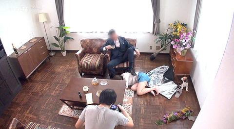 マゾ女踏みつけられて制圧される女のAVエロ画像 matumotoichika05