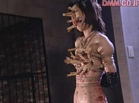 SM拷問調教 全身洗濯ばさみ責めされる女のAVエロ画像 nakagawara20