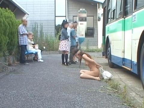 全裸野外放置される女のAVエロ画像 om254_07
