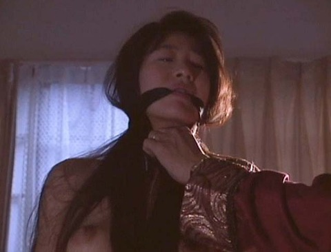 猿轡 口枷 をされる女 の 口拘束 AV エロ 画像 ashiya07