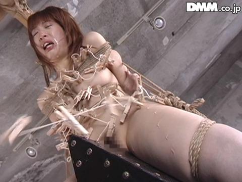 SM拷問調教 三角木馬 股間責めされる女のAVエロ画像 horiguchi08