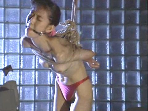 猿轡 口枷 をされる女 の 口拘束 AV エロ 画像 natumemasami12