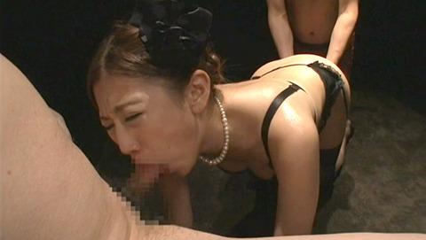 えずき汁フェラ 糸引くフェラ イラマ汁エロ画像 kamiomai26