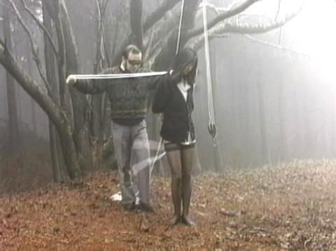SM調教 逆さ吊り にされる女 の AV エロ画像 koyamahitomi10