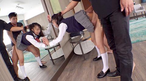 髪を鷲掴みにされて引っ張られて犯される女のAV画像 竹田ゆめ 68