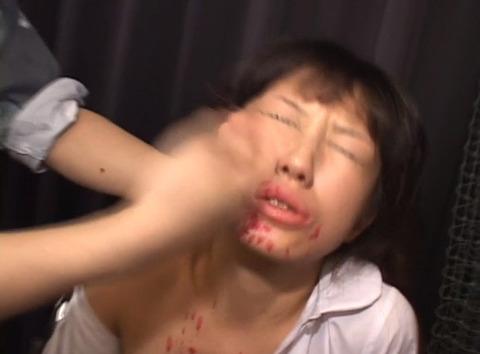 ビンタされる女 ビンタされる表情がエロい女のAV画像 mizuno34