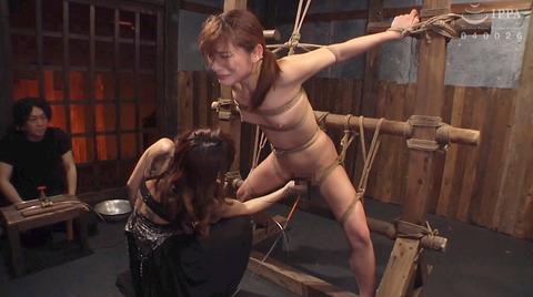 排泄管理されて 浣腸される女 苦しむ女の AVエロ画像 hanasaki155