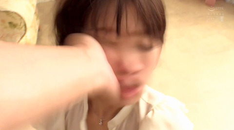 ビンタされる女 ビンタされる表情がエロい女のAV画像 hoshiame32