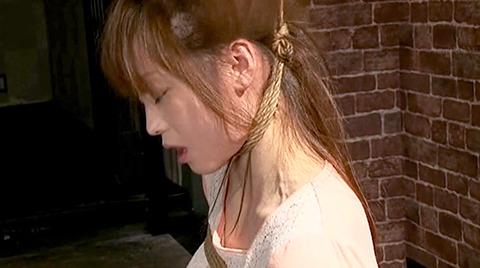 首吊りSM調教首絞め頸動脈圧迫窒息調教エロSM画像nanasakif136