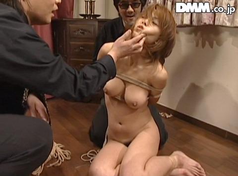 あごクイ、髪の毛グイで服従する女 桜田さくら