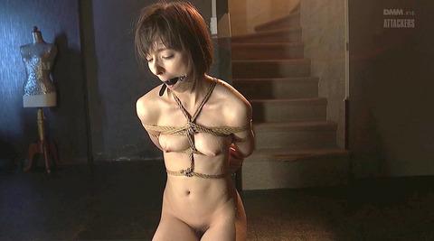 猿轡 口枷 をされる女 の 口拘束 AV エロ 画像 nishidakarina09