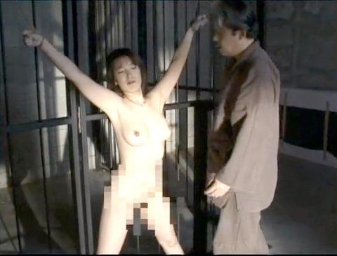 磔 SM緊縛拘束されて 逃れられない SM調教エロ画像 hosokawayuriko26