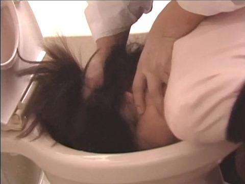 便器を舐める女 便器舐め女 強制便器舐めAV画像 kimijimaai13