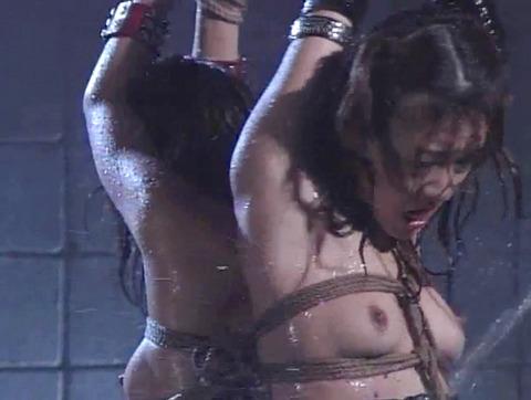SM水責め調教水責め拷問される女のエロAV画像yukimaiko49