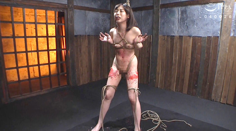 磔エロ画像=SM緊縛拘束 逃れられないSM調教エロ画像 nanamiyua253