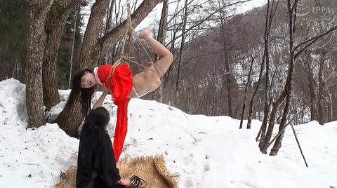 野外露出調教プレイする女のエロ画像 kanou74