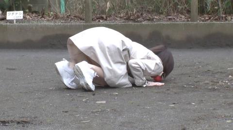野外露出調教プレイする女のエロ画像 suzumuraairi235