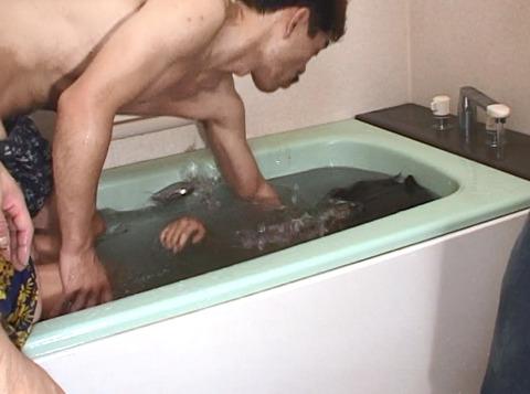 森田愛 強制子宮破壊 失神 水責めリンチ 暴力 女 AVエロビデオ 29