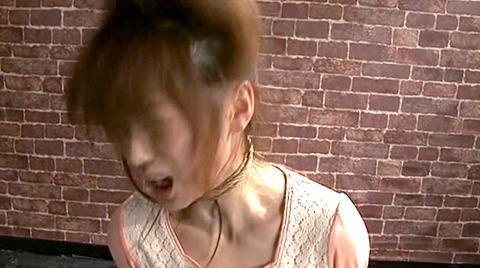 樹花凛 ビンタされる女 首吊り すのこ正座 拷問SMエロ画像 139