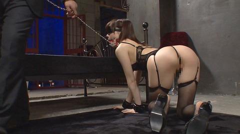 鈴村あいり 首輪と四つん這いでM女調教画像172