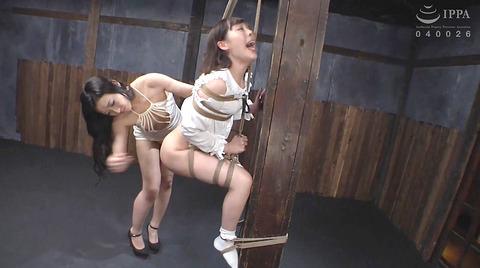 強烈ビンタ 拷問イラマチオ SM調教される 七海ゆあ AV エロ画像 227