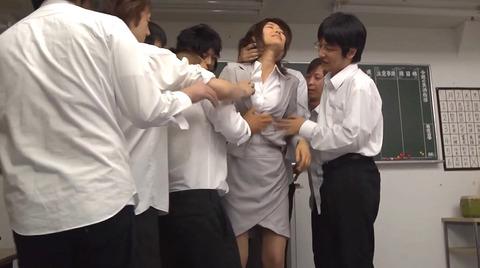 夏目彩春 性奴隷として四つん這いで犯される女の画像214