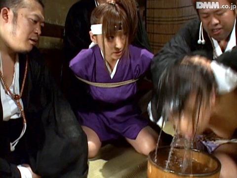 Maika 水上真理 水責め 三角すのこ責め 拷問SM AV画像15